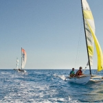 Sailing at Central Windsurf