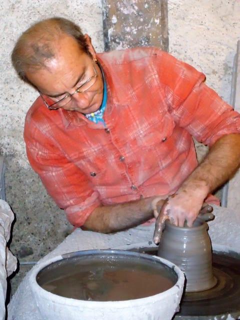 Potter Journées Européennes des Métiers d'Art