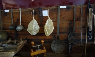 Traditional kitchen utensils