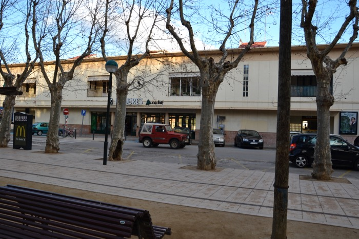 Old station, Figueres