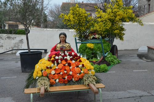 On the occasion of the Fête de la Sainte Dorothée, patron saint of gardens and gardeners, Saint-Esteve once again celebrates this yearly event