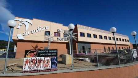 Paradise club, La Jonquera