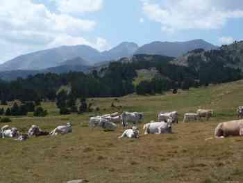 Mont Llaret and Roc d'Aude