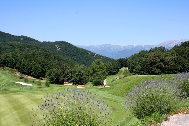 Golf in the Pyrenees Orientales