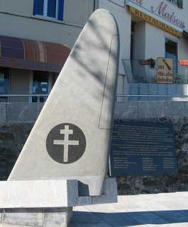 Port Vendres war memorial