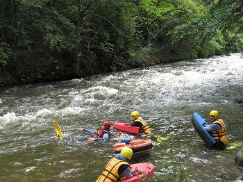 Rafting in the Pyrenees Orientales