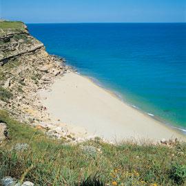 Leucate Franqui beach