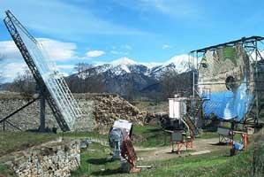 Solar furnace, Mont Louis