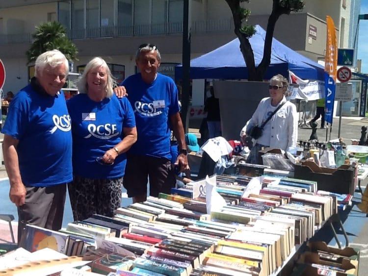 St Cyprien vide - grenier CSF Books and bric-a-brac