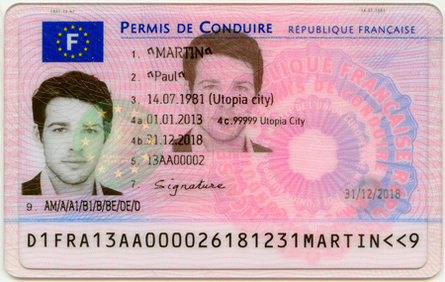 This is not Simon Newman. It is a less better looking 'specimen' driving licence!