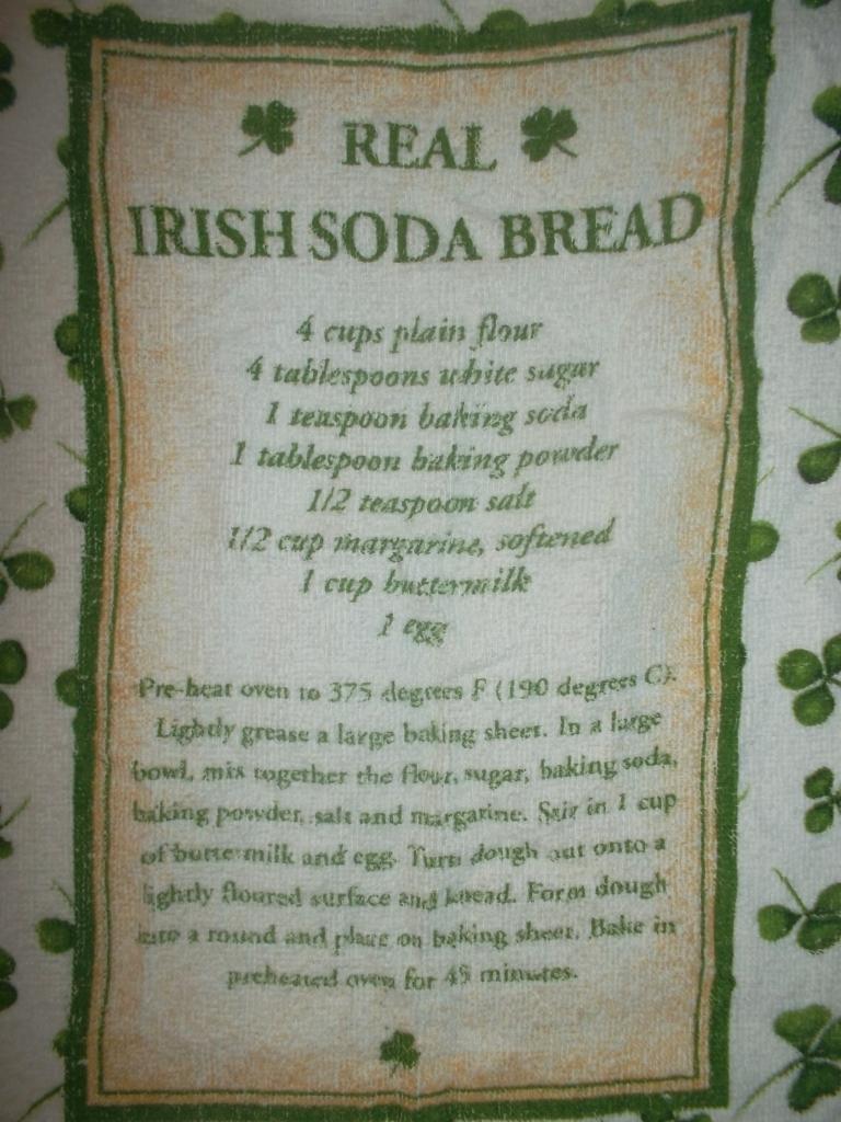 Irish Recipe