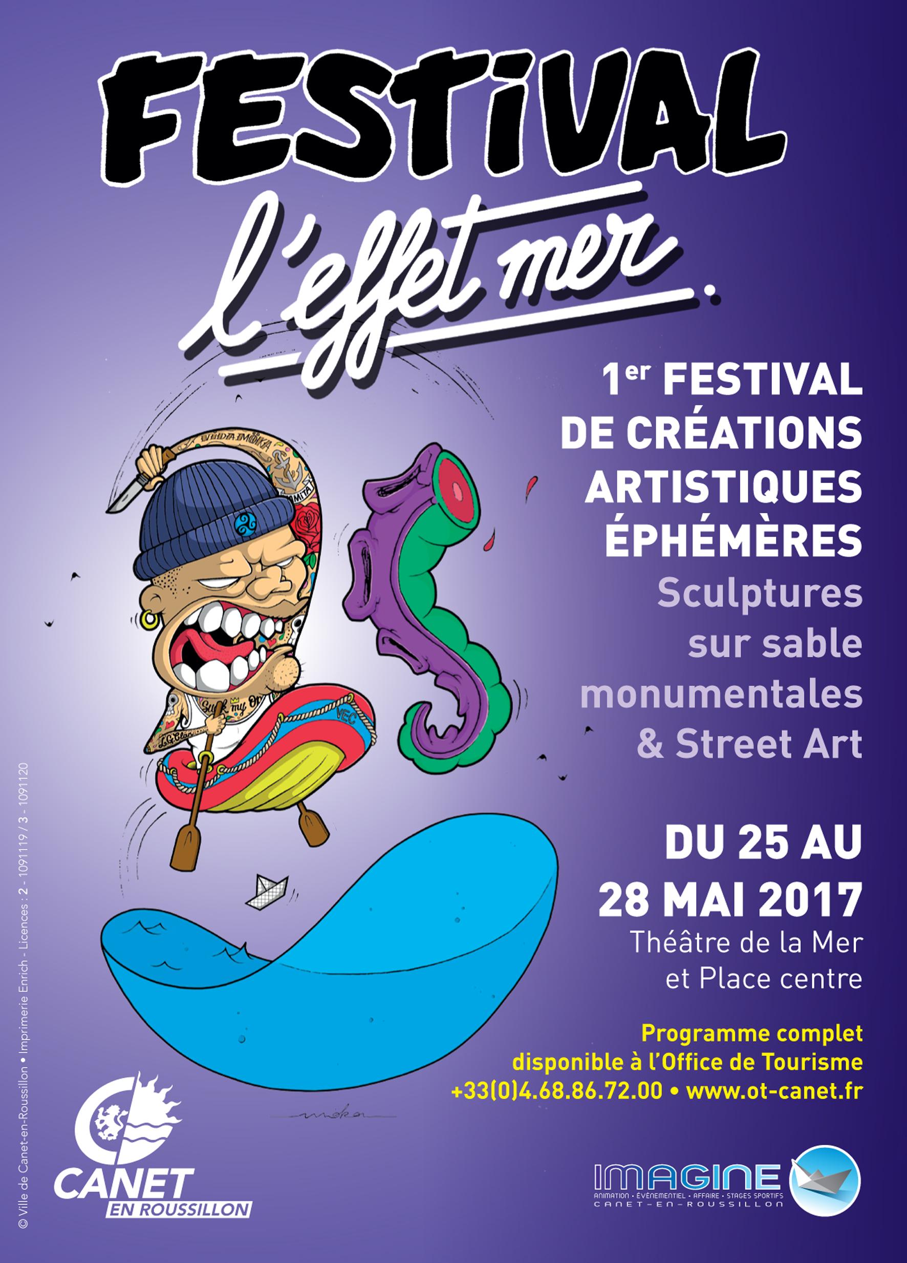 l'Effet Mer Art Festival Canet