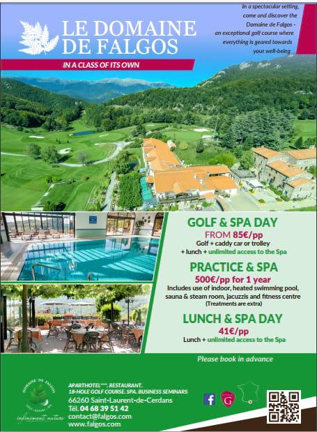 Golfing Experiences at Domaine de Falgos