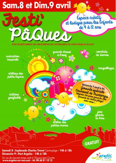 Festi'Pacques: free kids Easter entertainment