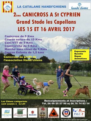 Cani-Corss Weekend, Handi'chiens