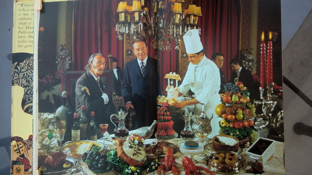 Dining with Dali