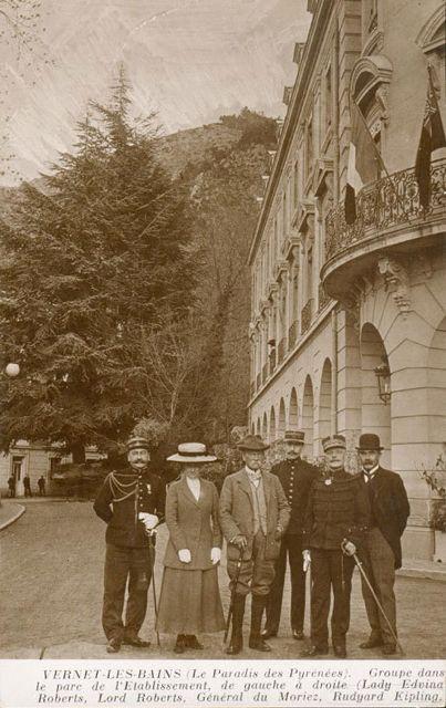 Rudyard Kipling in Vernet les Bains