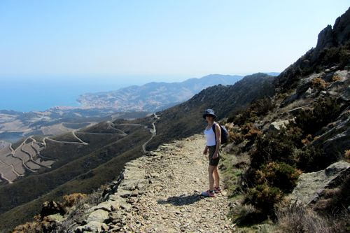 Walk: Port Vendres, Tour de Madeloc & the Military Installations
