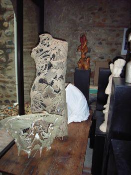 Agnes Bogaert: Sculpture in Rivesaltes