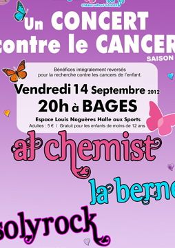 Bages - grand concert in aid of cancer research