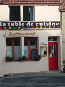 La Table de Cuisine