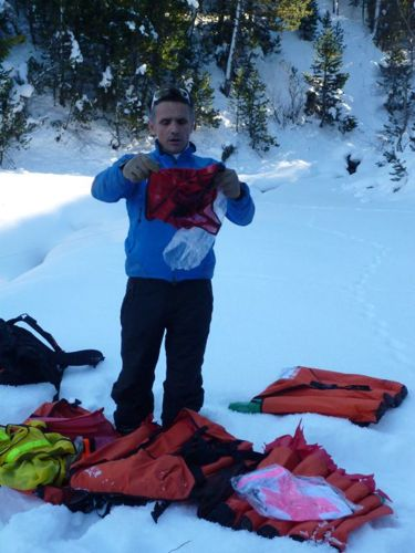 Avalanche Rescue in the Pyrenees Orientales