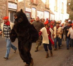 fete de l'ours/bear festival Saint Laurent