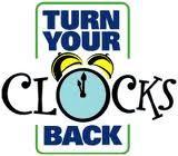 Clocks back