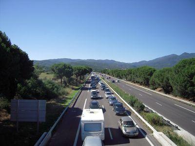 Motorway_traffic_in_August_-_Le_Boulou