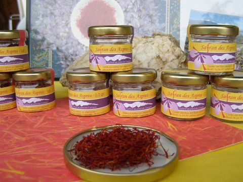 Saffron markets in the Pyrenees