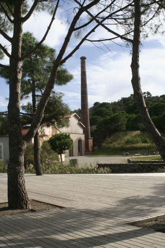 Paulilles – Conservation site of old dynamite factory