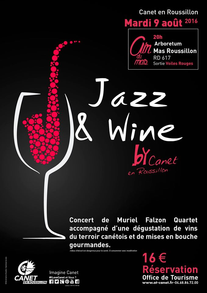 Jazz wine canet en roussillon anglophone direct - Office du tourisme de canet en roussillon ...