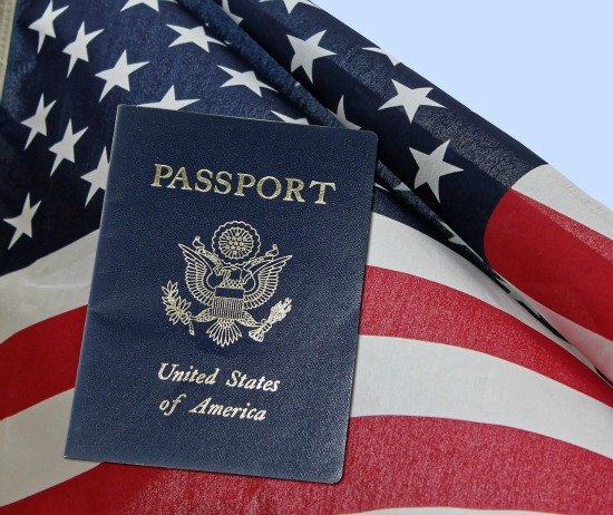 American passports and visas