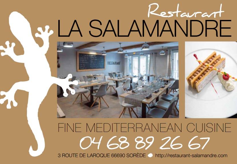 Restaurant Le Salamandre, Sorède