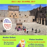April activities at the Fortresse de Salses