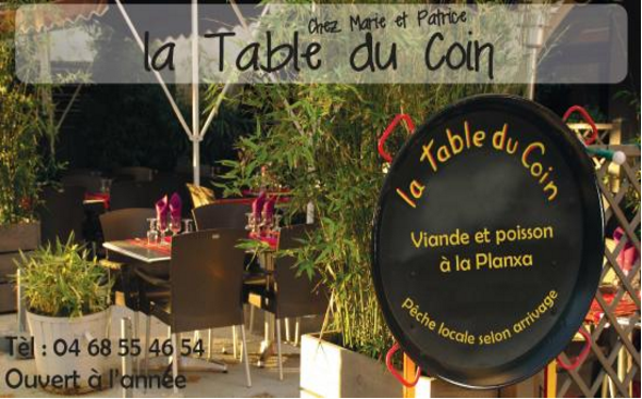 Table du Coin