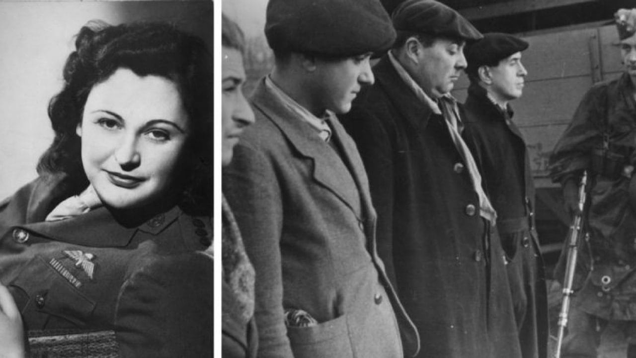 Nancy Wake known as the white mouse