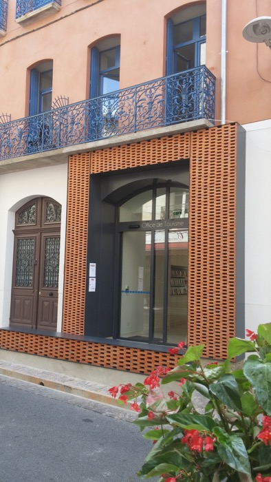 Ceret's Tourist Office at new location, 5 Rue Saint Ferreol.