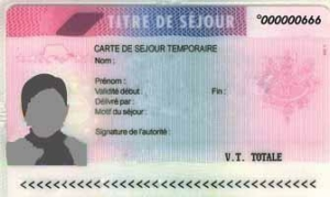 Applying for a carte de sejour