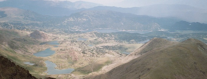 Lakes of the Pyrenees-Orientales Lacs du Massif du Carlit