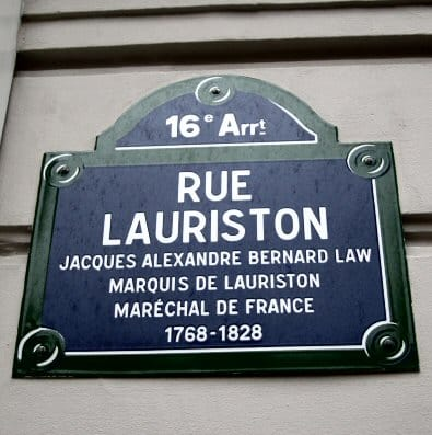 93 rue Lauriston headquarters of the Carlingue french gestapo