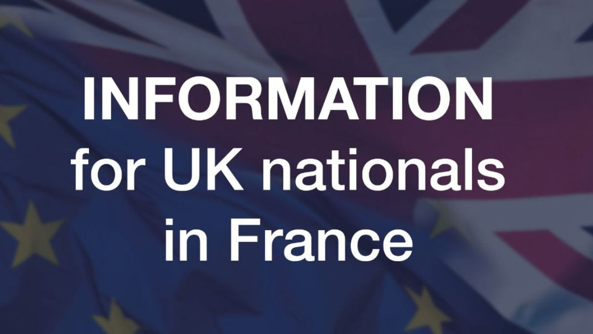 Information for expats in France from the British Embassy