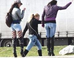Prostitutes in La Jonquera