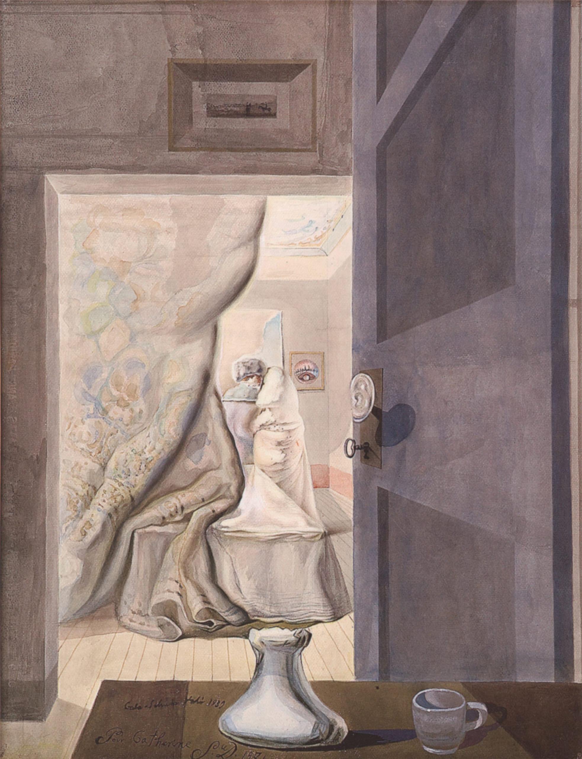 Salvador Dali at Musée d'art moderne, Céret