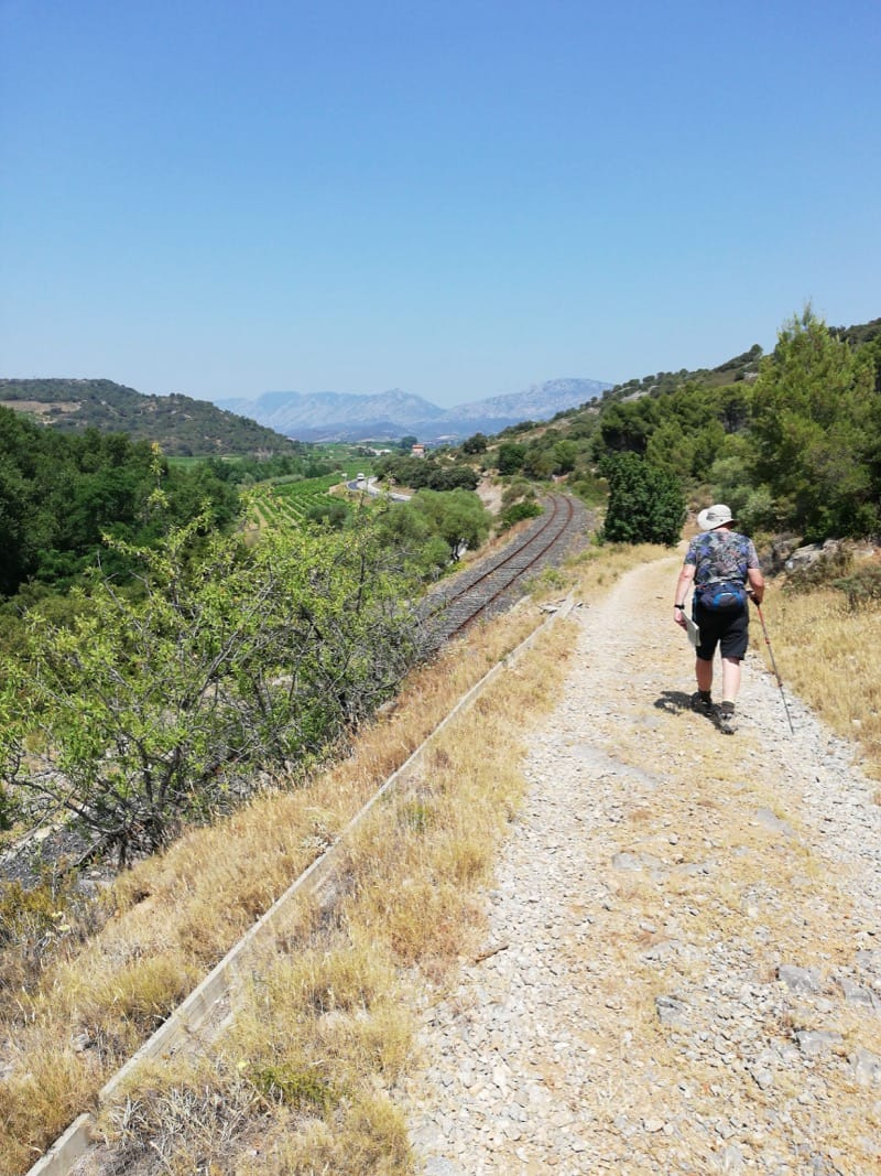 Walk: The heights above Estagel