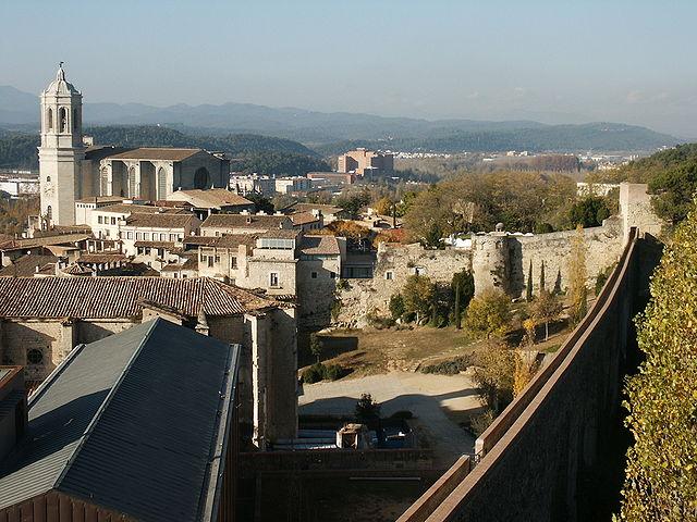 GironaPasseigDeLaMuralla