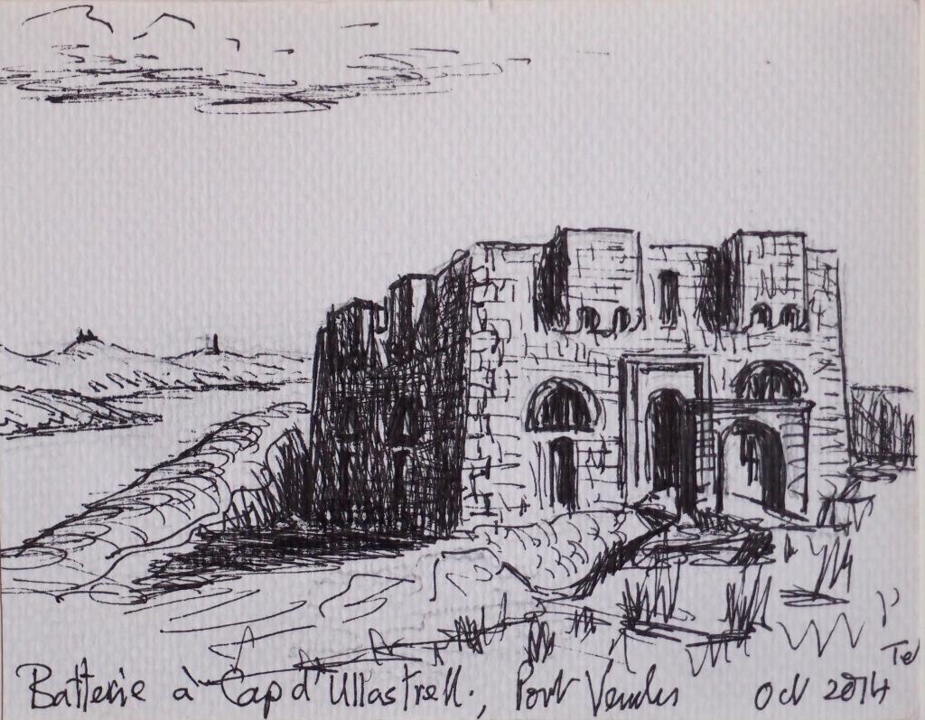 2014: Batterie; Cap Oullastrell (1846)