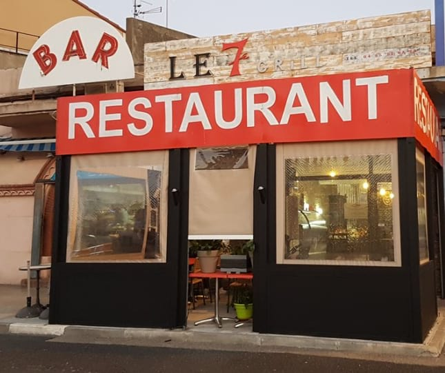 Le 7 grill port vendres p o life - Restaurant le france port vendres ...