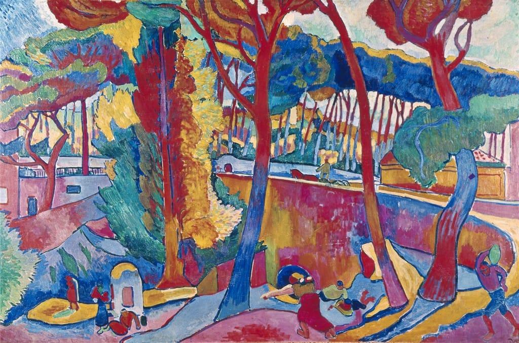 ANDRÉ DERAIN, THE TURNING ROAD, L'ESTAQUE, 1906.
