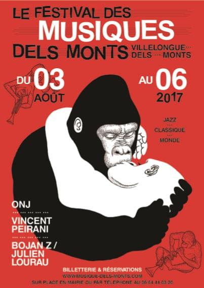 Affiche Festival Musique dels Monts